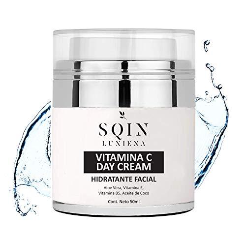 Aceite Hidratante Facial marca SQIN LUXIENA