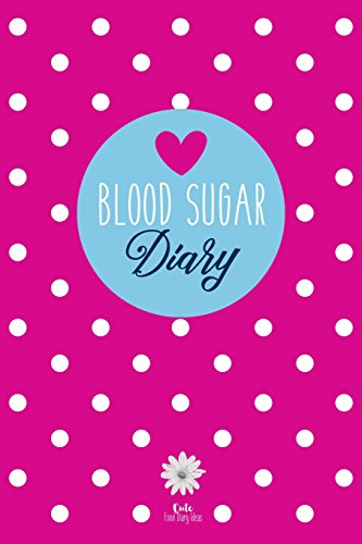 Price comparison product image Blood Sugar Diary: Diabetes Journal for 53 Weeks (Pink)