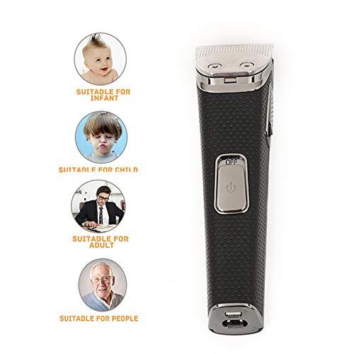 Hair Clippers Voor Mannen, Professionele Elektrische Tondeuse Scheerapparaat Baardtrimmer, Kaal Hoofd Clipper Draadloze Tondeuse, Opladen Via USB,Silver