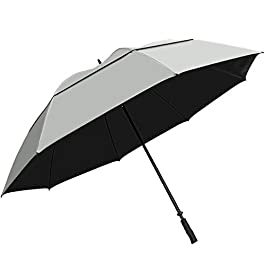 Sun Tek 68″ UV Protection Wind Cheater Vented Canopy Umbrella