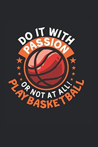 Basketball: Lustiger Basketball Passagen Meisterschaftsspieler Notizbuch DIN A5 120 Seiten für Notizen Zeichnungen Formeln   Organizer Schreibheft Planer Tagebuch