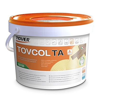 Tovcol TA 10 KG - Colla Bicomponente professionale per parquet pregiati (chiaro)