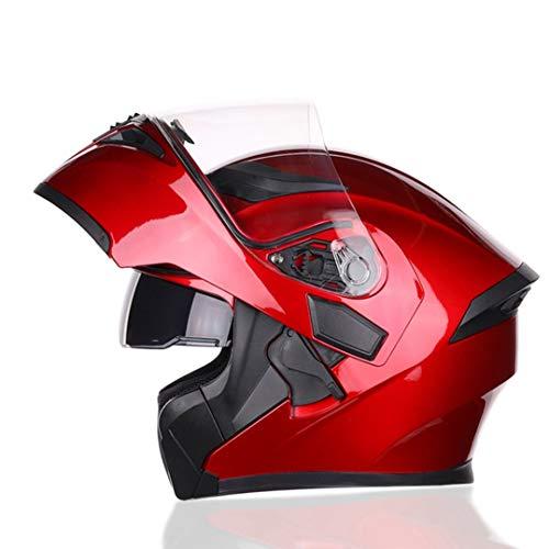 Double Sun Visor Full/open Face Helmet Modular Motorcycle Motorbike Bicycle...