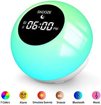 Anymow Sunrise Bluetooth Speaker Alarm Clock