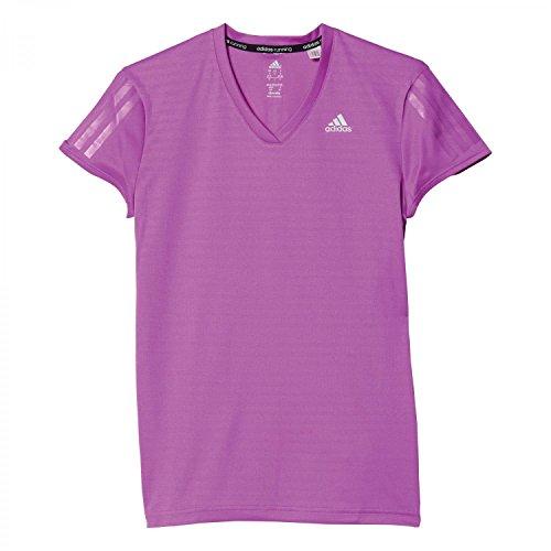 Adidas Rs Ss Tee W, Maglietta A Manica Corta Woman (Fitness &), Multicolore (Pursho/Refsil), S
