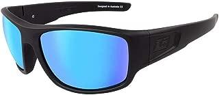 Dirty Dog Mens Muffler Sunglasses - Black/Ice Blue