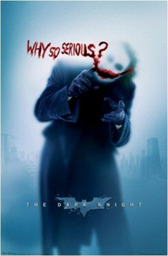 Batman Dark Knight Movie Poster Why So Serious? (Style #9347)