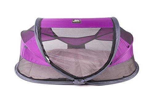 Deryan Luxe - Cama de viaje para bebé, color morado
