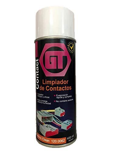 Limpia Contactos Eléctricos 400 ml. GT