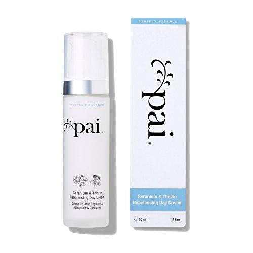 Pai Skincare Geranium & Distel Rebalancing Tagescreme Feuchtigkeitspflege für fettige sensible Mischhaut - 50 ml