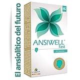 ANSIWELL FAST Pastillas para la Ansiedad con L Teanina Magnesio y Vitamina C - Ansioliticos Naturales que Reducen Ansiedad  Stress y Cansancio - Mejoran la Concentracion y la Memoria  - 30 Capsulas