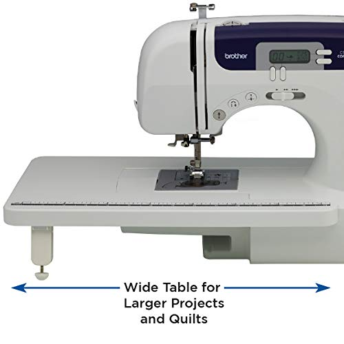 Brother Sewing and Quilting Machine, CS6000i, 60 Built-in Stitches, 2.0