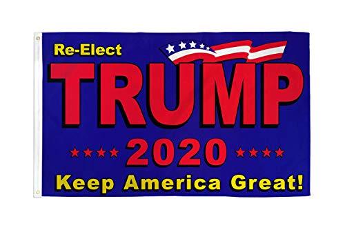 AZ FLAG Flagge Donald Trump PRÄSIDENT USA 2020 150x90cm - VEREINIGTEN Staaten VON Amerika Fahne 90 x 150 cm - flaggen Top Qualität