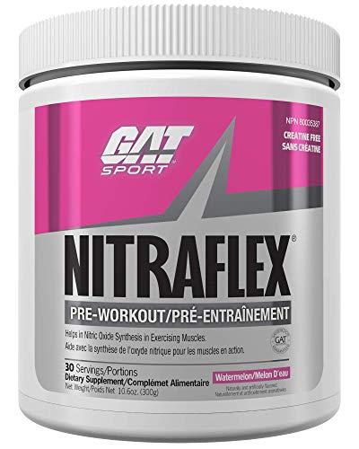 Gat Nitraflex Nutritional Supplement, 300 Gram, free(Flavor: Watermelon)