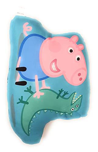 Tiptrade - Cojín Peppa Pig – George Dinosaurio – Decoración del hogar – 761