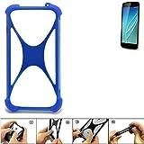 K-S-Trade® Handyhülle Für Allview P6 Lite Silikon Schutz