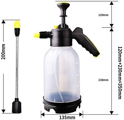 Watering kan, Watering Bloem Sprinkler Druk Sprayer Watering Kan Spray Fles Watering Ketel Schoonmaak Auto Thuis, Vijf Kleuren Optioneel, 2L (Kleur : C)