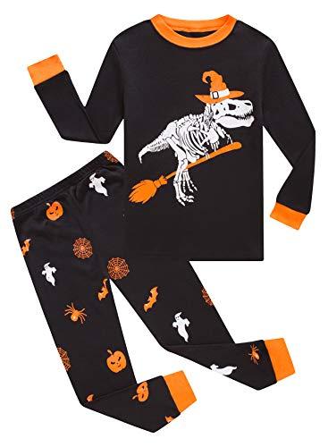 KikizYe Kids Pajamas Boys & Girls Solid Colors 2 Piece Pajama Set 100% Cotton Size 14
