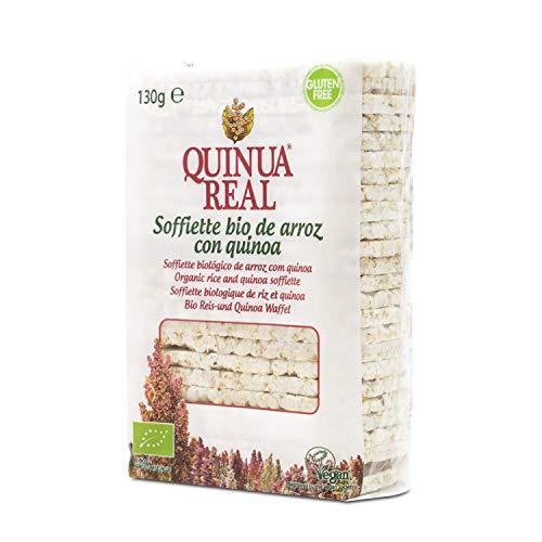 Soffiette de arroz con quinoa bio gluten free - Quinua Real - 130 gr. (BIO)