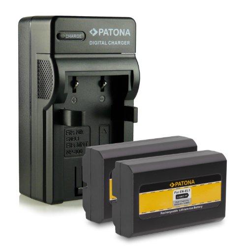 Cargador Nikon EN-EL1 Coolpix 4300 4500 4800 5000 ENEL1