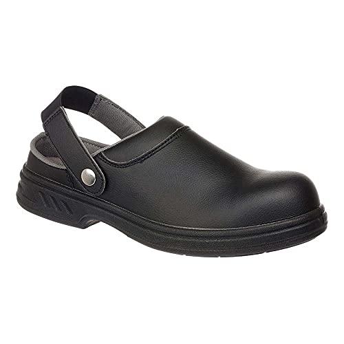 Portwest Steelite Safety Clog SB AE WRU, Chaussures de sécurité homme - Noir (Black), 48 EU