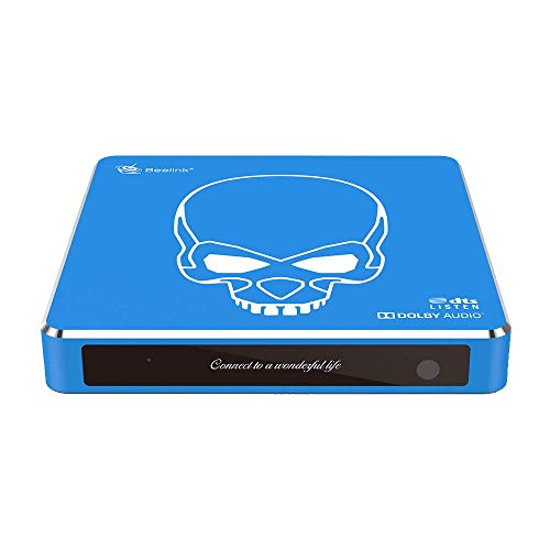 DroiX GT King Pro AMLogic S922X-H Android 9-TLG. Angetrieben 4K Ultra HD HTPC Android PC; 4 GB RAM, 64 GB Speicher, Dual-Band-WLAN, 1 GB/s ETH, SPDIF mit G10 Air-Mouse [GT-King-PRO]