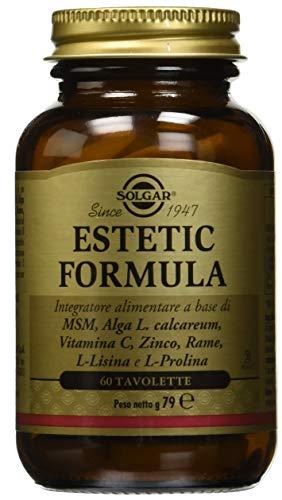 Solgar Estetic Formula - 60 Tavolette, 79 g