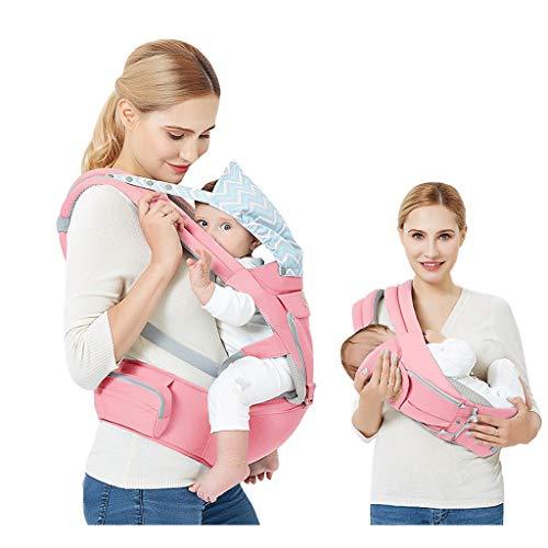 Sangle pour bébé à la Taille, bandoulière Amovible 4 Saisons en Coton Multi-usages, pouvant être utilisée séparément ( Color : A )