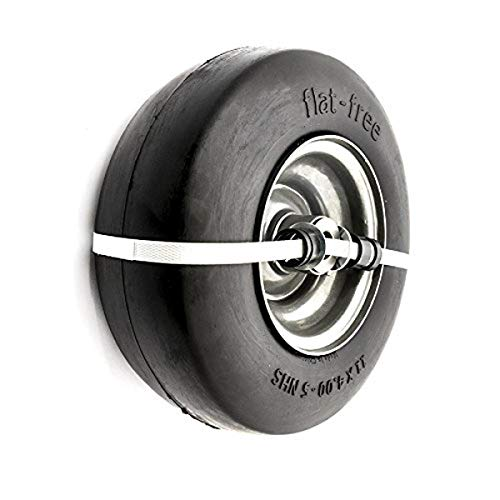 """Arnold 11"""" x 4"""" Universal Replacement Flat-Free Tire for Zero-Turn Mowers, Black"""