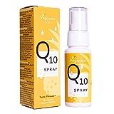 Q10 Spray Vegavero®   ÚNICO Spray Coenzima Q10 (Ubiquinol)   Antioxidante + Antiedad   Sabor a Piña   Sin Azúcar & Sin Aditivos   Con Vitamina B1   Vegano   150 Pulverizaciones