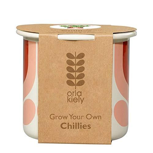 Orla Kiely rayé Palissandre Tulipe cultiver Vos Propres piments