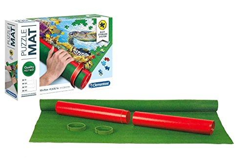 Outletdelocio. Puzzle Roll Clementoni 30297. Tapete Universal para Transportar/Guardar Puzzles hasta 2000 Piezas