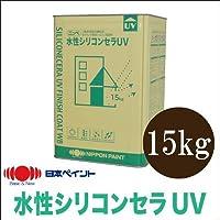[A] ニッペ 水性シリコンセラUV ホワイト(ND-101) [15kg]