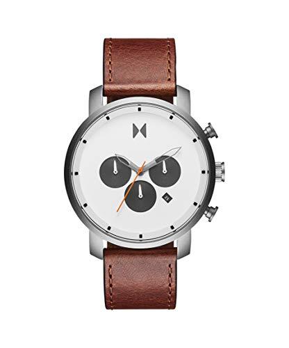 MVMT Herren Analog Quarz Uhr mit Kalbsleder aus Leder Armband 28000011-D