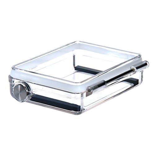 Sametop wasserdichte BacPac Hintertür Kompatibel mit GoPro Hero4 Schwarz, Hero4 Silbern, Heri3+ Kameras Standarde Gehäuse
