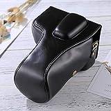 YANTAIANJANE Accesorios de la cámara Bolso de Cuero de la PU de la cámara del Cuerpo Completo for Nikon D5300 / D5200 / D5100 (Lente de 18-55 mm / 18-105 mm / 18-140 mm) (Color : Black)