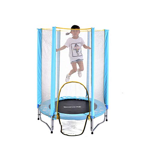 Find Bargain HTDZDX Children's Trampoline Family Indoor Children's Fitness Care Network Trampoline