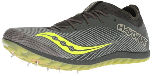 Top 10 best selling list for saucony havok xc2 flat shoes green citron