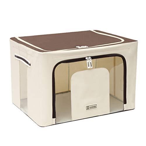 MBMF Oxford Cloth Clothes Storage Box Quilt Organizer Folding Storage Basket Wardrobe Storage Boxes(Color:style2,Size:60x42x40cm)