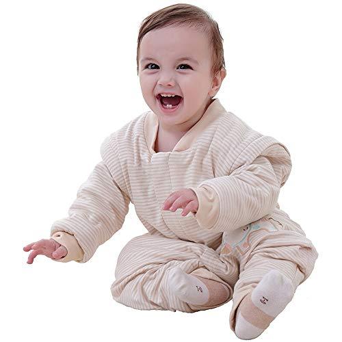 HS-01 dikker slaapzak, herfst en winter kinderen slaapzakken, kick quilt katoen baby Split been slaapzak, geschikt voor 0-3-6 jaar oude baby slaapzak