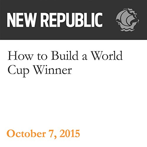 How to Build a World Cup Winner audiobook cover art
