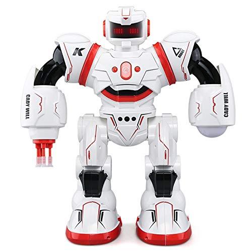JJR/C Robot Rouge R3 Cady Will Intelligent Combat RC Dansant Avec LED