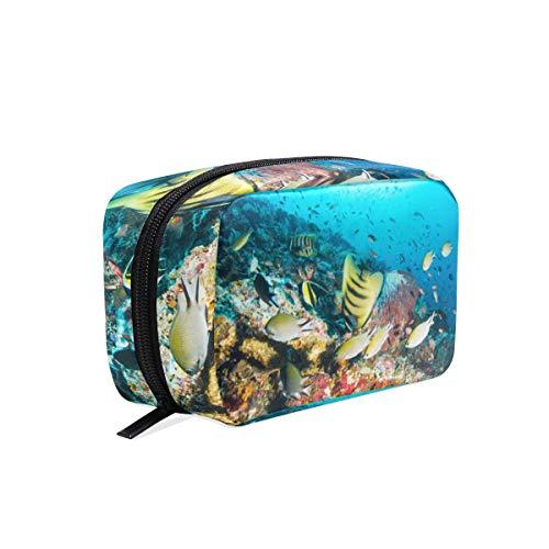 Trousse de maquillage Ocean Fish Cosmetic Clutch Clutch