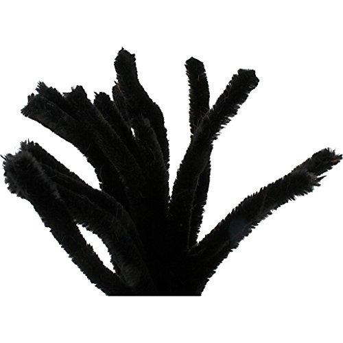 Propre pipas, épaisseur 15 mm, L. 30 cm, noir, 15ud