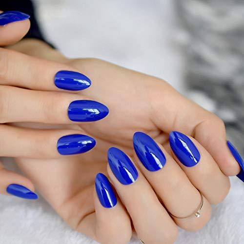 Meiyy Nageldecoratie voor nagels, met pers voor de vrouw, diepe bruine amandel, kunstnagels, chocolade, fondant, zoete nagels F54-300P