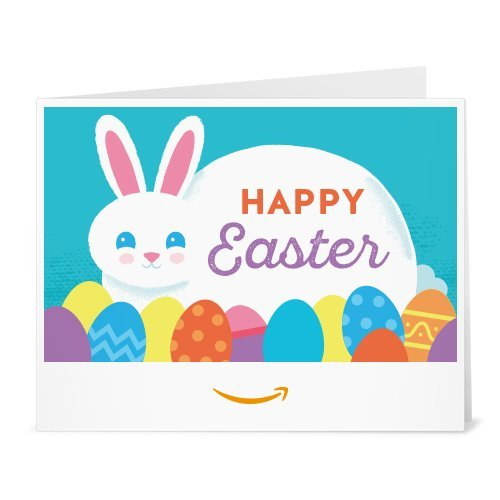 Amazon Gift Card - Print - Happy Easter Bunny
