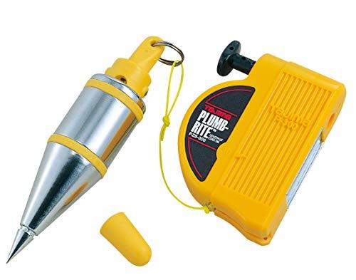 Tajima Senklot Plump-Rite (mit 300g Schnellstabilisator, Gehäuse mit Elastomer-Ummantelung, Handlot mit automatischem Einzug) PZB300D