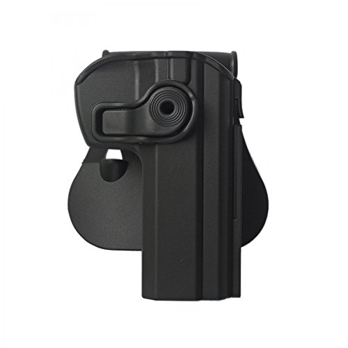 IMI Defense New Conceal Carry Tactical Polymer Retention Holster With Mag Pouch for Pistol Handgun CZ 75 SP-01 Shadow Magazine Hold IMI-Z1340