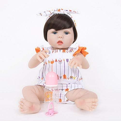 Hongge Reborn Baby Doll,Lebensechte Reborn Puppe Baby Reborn Puppe Spielzeug 55cm