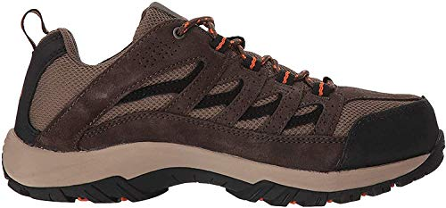 Columbia Men's Crestwood Hiking Shoe, camo Brown, Heatwave, 8.5 Wide US